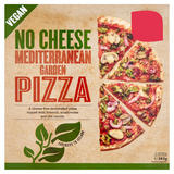 No Cheese Mediterranean Garden Pizza 382g