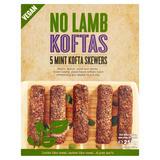No Lamb Koftas 5 Mint Kofta Skewers 250g