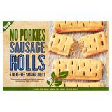 No Porkies 6 Meat-Free Sausage Rolls 6 x 100g (600g)