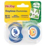 Nûby 2 Daytime Dummies 6-18m