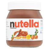Nutella® Hazelnut Spread with Cocoa 400g