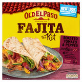 Old El Paso Roasted Tomato & Pepper Fajita Kit 500g