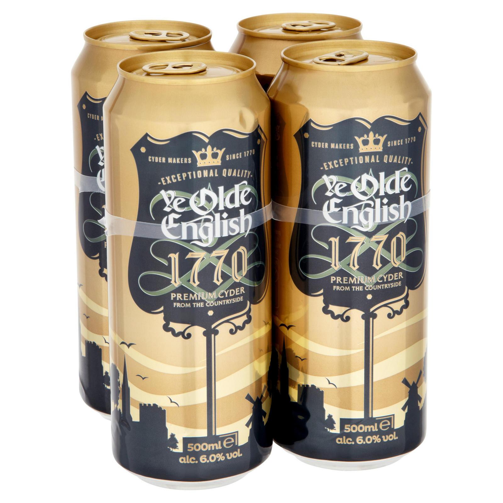 Olde English 4pk Cider 56487