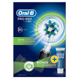 Oral-B Pro 650 CrossAction Electric Toothbrush Powered by Braun