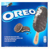 Oreo Ice Cream with Oreo Biscuit Pieces 3 x 110ml (330ml)