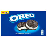 Oreo Ice Cream with Oreo Biscuits Pieces 6 x 55ml (330ml)
