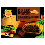 The Original Patty Co. Beef Jamaican Patties 6 x 150g