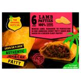 The Original Patty Co. Lamb Jamaican Patties 6 x 150g