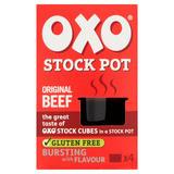 Oxo Original Beef Stock Pots 4 x 20g
