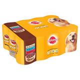 PEDIGREE Dog Tins Mixed Selection in Gravy 12 x 400g