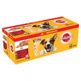 PEDIGREE Dog Pouches Mixed Variety in Jelly 40 x 100g