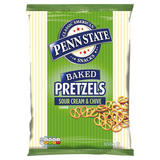 Penn State Baked Pretzels Sour Cream & Chive Flavour 650g
