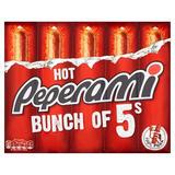 Peperami Hot 5 x 22.5g (112.5g)