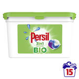 Persil Bio now reduces bobbles Laundry Capsules in 100% recyclable pack 15 PC