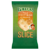 Peter's Premier Cheesy Beans & Sausage Slice 170g