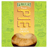 Peter's Premier Chicken in Roast Gravy Pie 225g