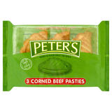 Peter's Corned Beef Pasties 3 x 150g