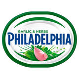 Philadelphia with Garlic and Herbs Soft White Cheese 170g