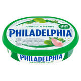 Philadelphia Garlic & Herbs Soft Cheese 170g