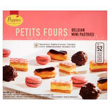 Poppies Petit Fours Belgian Mini Pastries 52 Pieces 800g