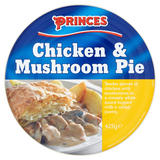 Princes Chicken & Mushroom Pie 425g
