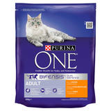Purina ONE Adult Cat Chicken and Wholegrain 800g