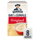 Quaker Oat So Simple Original Porridge 8x27g