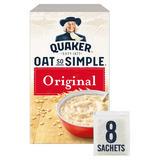 Quaker Oat So Simple Original Porridge 8x27g