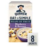 Quaker Oat So Simple Blueberry & Banana Porridge 8x34.8g
