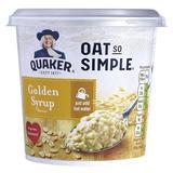 Quaker Oat So Simple Golden Syrup Porridge Pot PMP 57g
