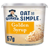 Quaker Oat So Simple Golden Syrup Porridge Pot 57g