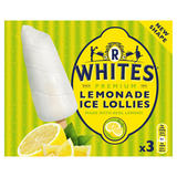 R Whites Premium Lemonade Ice Lollies 3 x 75ml (225ml)
