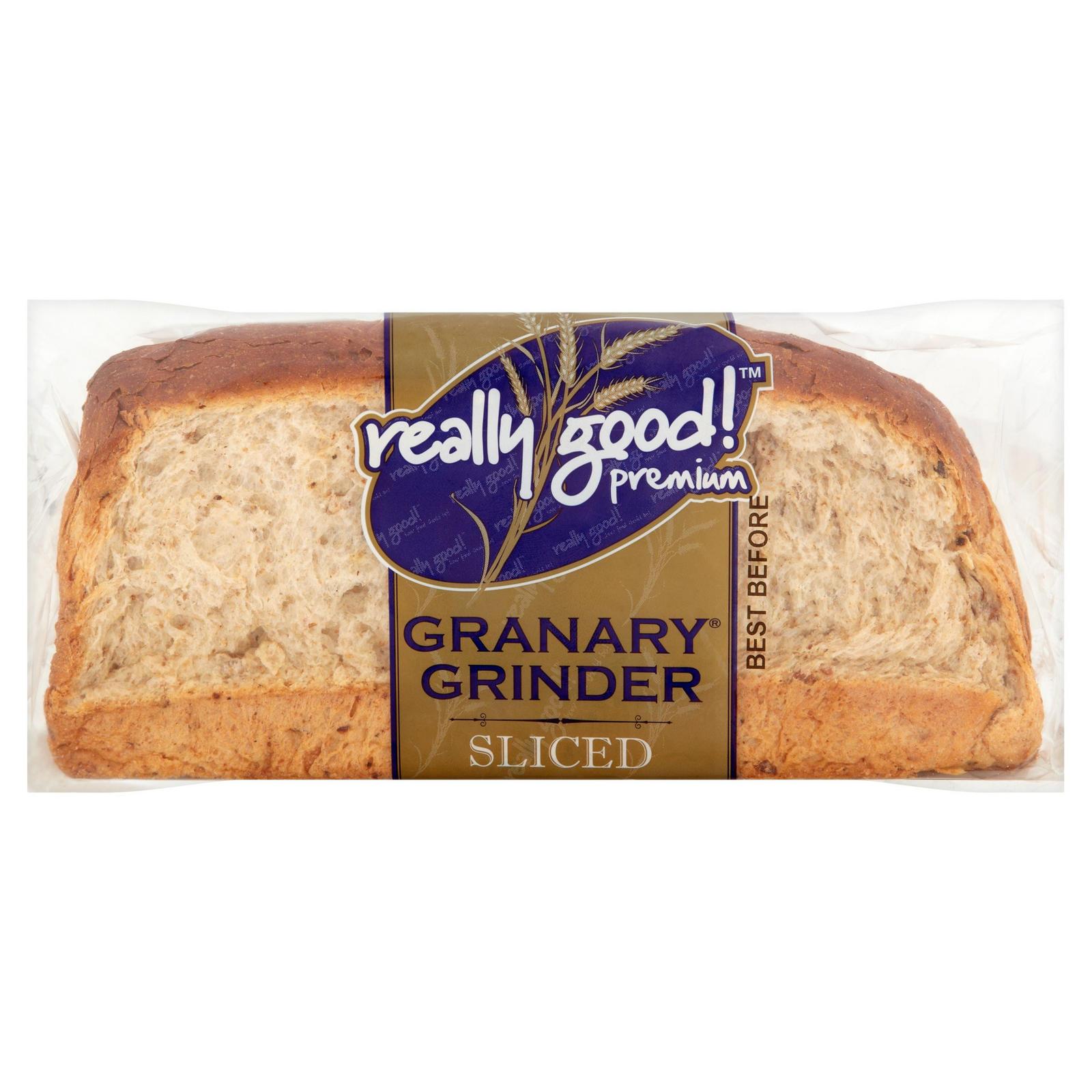 Really Good! Premium Granary Grinder Sliced 800g   Brown ...