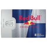 Red Bull Energy Drink, 8 x 250ml