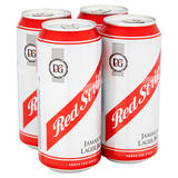 Red Stripe Jamaica Lager Beer 4 x 440ml Cans