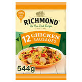 Richmond 12 Frozen Chicken Sausages 544g