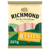 Richmond 8 Thin Pork Sausages 227g
