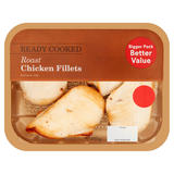 Roast Chicken Fillets 395g