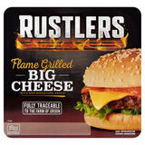 Rustlers Flame Grilled Big Cheese with Our Signature Sauce 179g