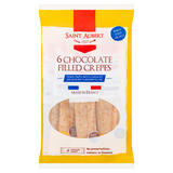 Saint Aubert 6 Chocolate Filled Crepes 180g