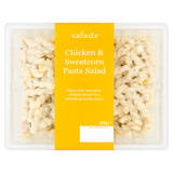 S:a:l:a:d:s Chicken & Sweetcorn Pasta Salad 600g