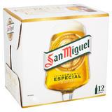 San Miguel Especial Premium Lager 12 x 330ml Bottles