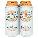 San Miguel Especial Premium Lager 4 x 440ml Cans