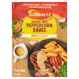 Schwartz Creamy Mild Peppercorn Sauce Mix 25g