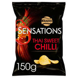 Sensations Thai Sweet Chilli Crisps 150g
