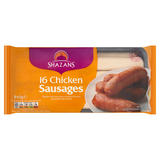Shazans 16 Chicken Sausages 840g