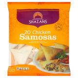 Shazans 20 Chicken Samosas 650g