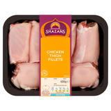 Shazans Chicken Thigh Fillets 600g