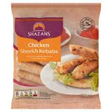 Shazans Chicken Sheekh Kebabs 750g