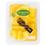 Simply Fruit Naturally Pineapple Chunks 320g